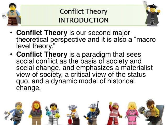 an introduction to the concept of the conflict theory founded by karl marx Social conflict theory sees social life karl marx's theory of class conflict social conflict theory in sociology: definition & contributors.