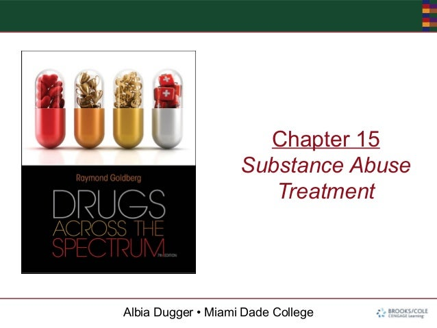 Albia Dugger • Miami Dade CollegeChapter 15Substance AbuseTreatment