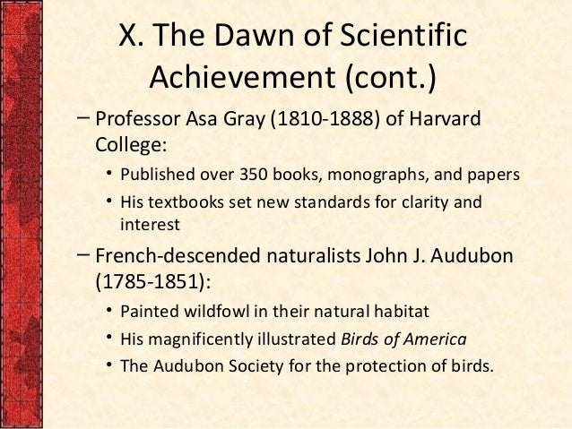 essay on achievement of science