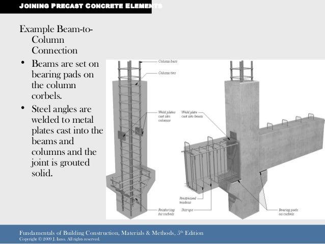 Precast Concrete Framing : Pre caste concrete