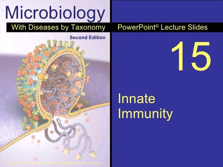 15 Innate Immunity