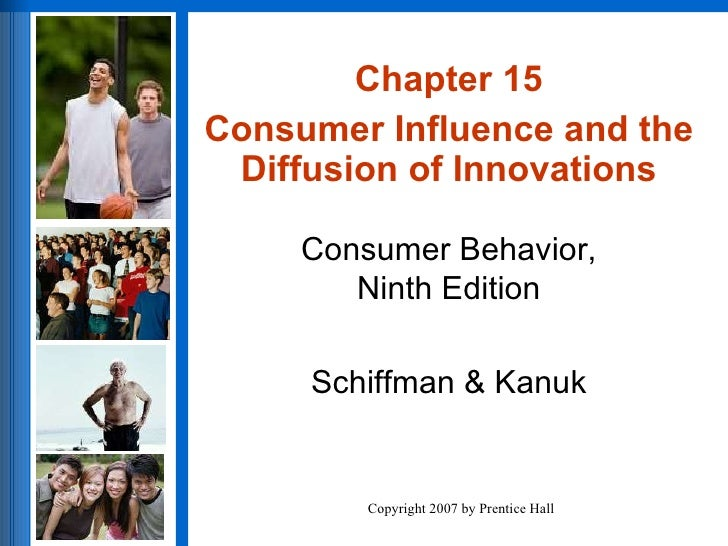 Chapter 15 Conumer Influence