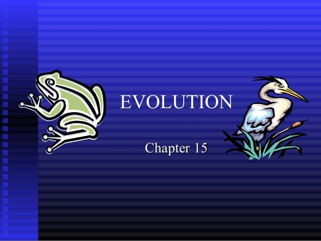 Biology- Chapter 15 PowerPoint