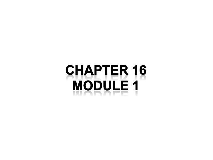 Chapter 16 - Retailing