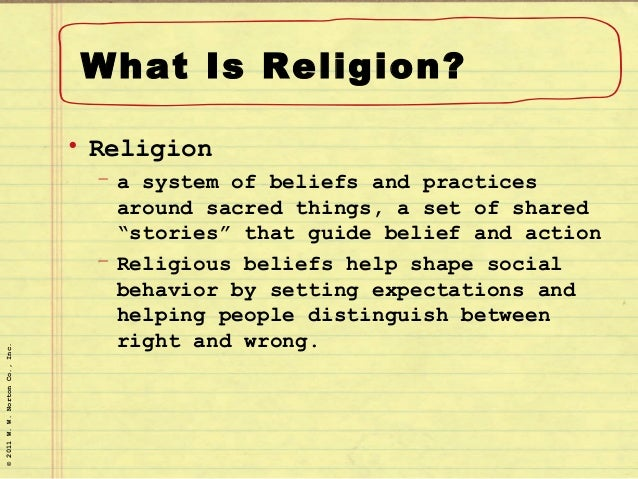 Chapter 16 religion
