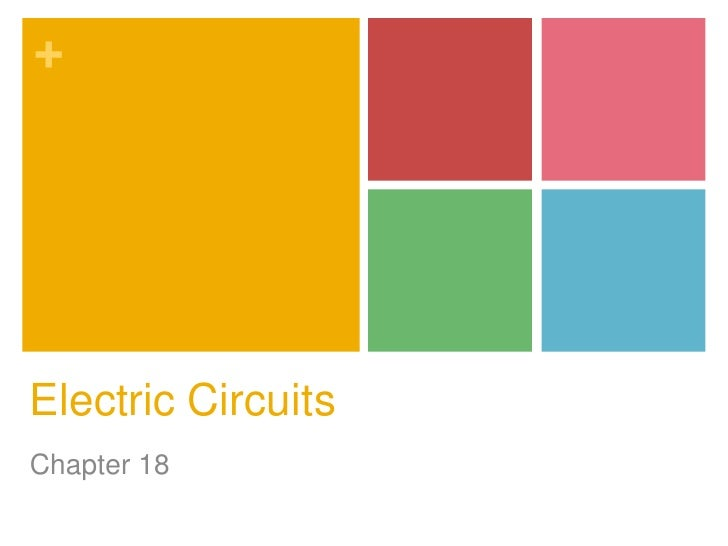 +Electric CircuitsChapter 18