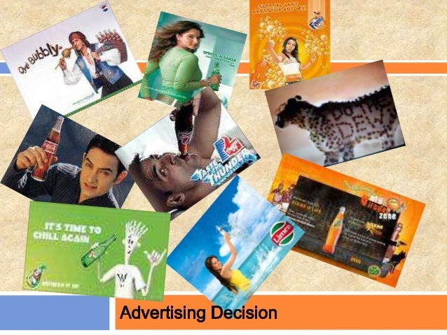 Advertising  Paid, nonpersonal communication through various media by business firms, not-for- profit organizations, and ...