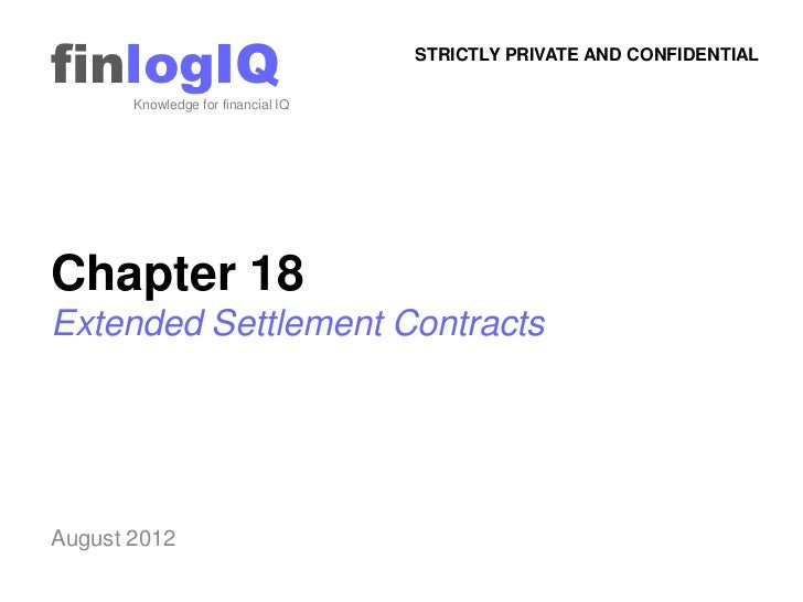 finlogIQ       Knowledge for financial IQ                                    STRICTLY PRIVATE AND CONFIDENTIALChapter 18Ex...