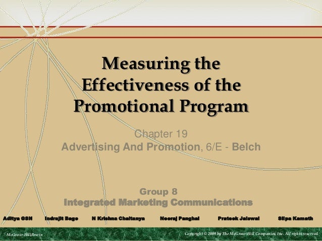 effectiveness of website as a promotional Start studying ch 18: measuring effectiveness of promotional program learn vocabulary, terms, and more with flashcards, games, and other study tools.