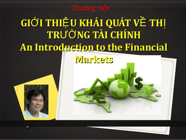 Chapter 1 an introduction to financial markets updated 4_4_2014