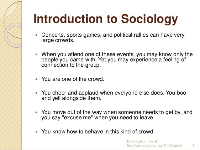 intro to sociology 1010 Sociology 1010 exam 1 description intro to sociology first exam the use of the discipline of sociology with the intent of yielding practical applications.