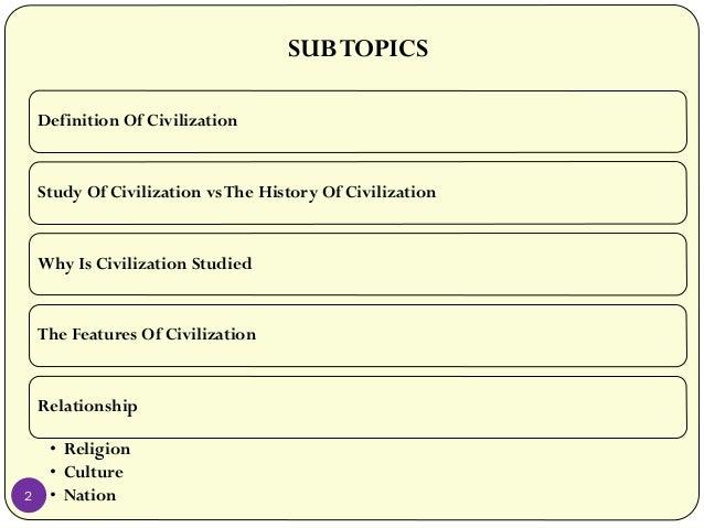 culture and civilization relationship goals