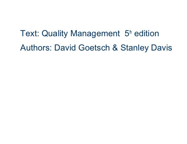 What topic would you suggest for a 20 page term paper on quality management?
