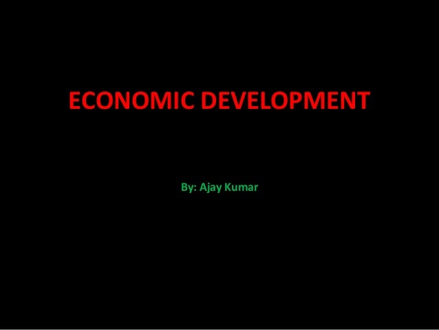 Chapter 1 economic development (1)