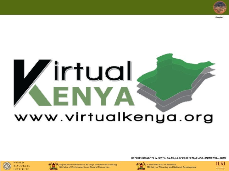 Chapter 1 Ecosystems and ecosystem services maps Natures Benefits in Kenya