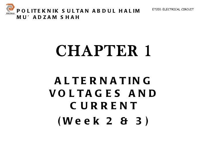 Chapter 1 et201