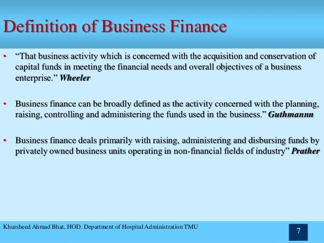 definition of financial management pdf