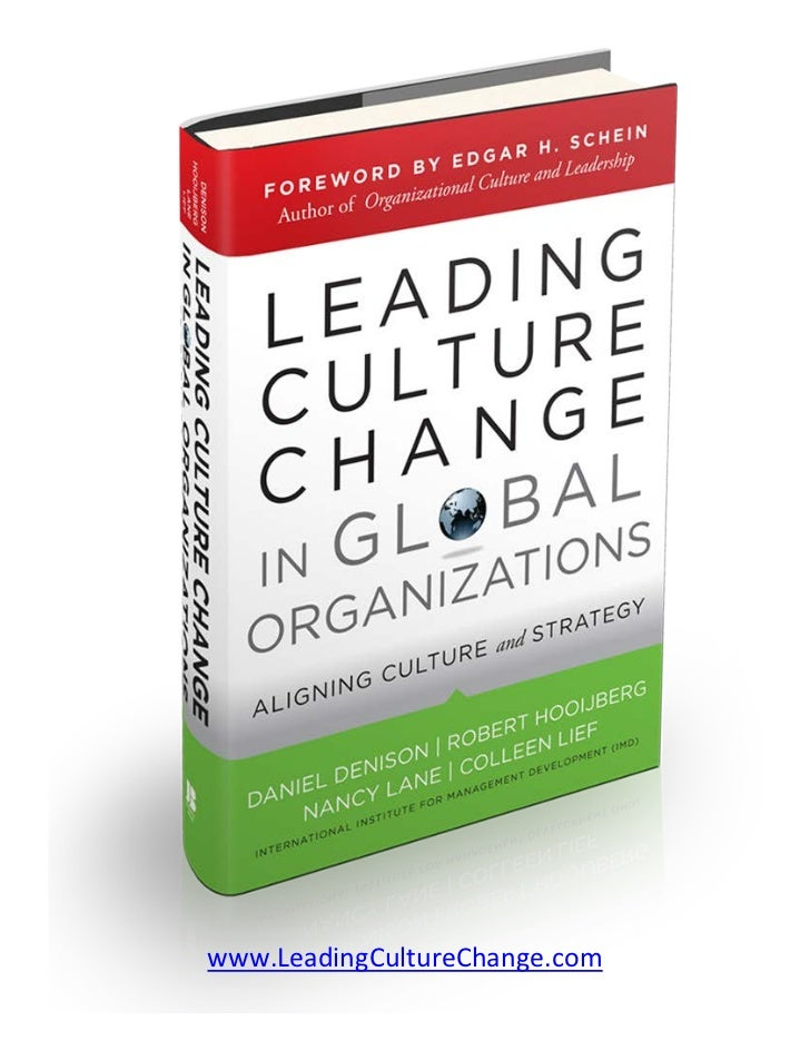 Leading Change in Global Organizations - Chapter 1
