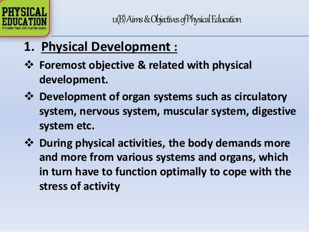 physical development 6 essay