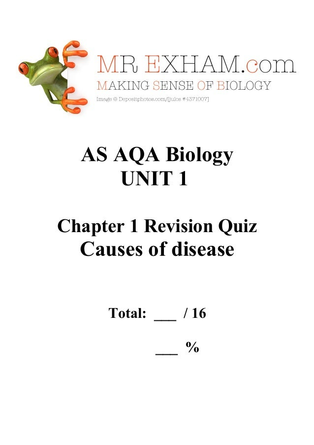 aqa biology essay causes of disease How to tackle the biol5 essay  unit 5 essay, how to tackle the biol5 essay,  june 2010 past paper essay question: the causes of disease in.