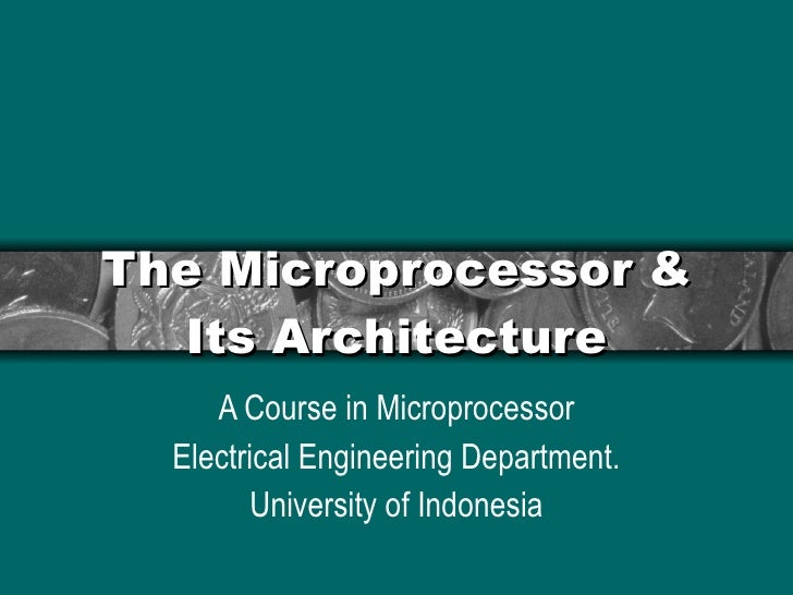 Chapter2.1 2-mikroprocessor