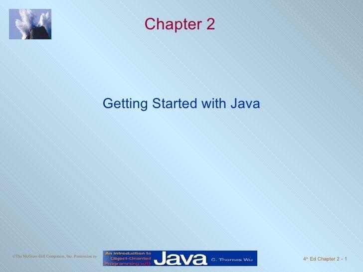 Java căn bản - Chapter2