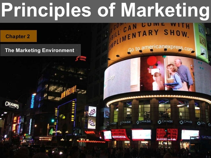 Principles of Marketing Chapter 2 The Marketing Environment