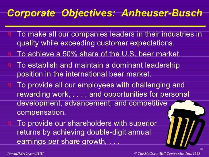 anheuser busch pest analysis