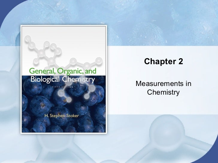 Chapter 2Measurements in  Chemistry
