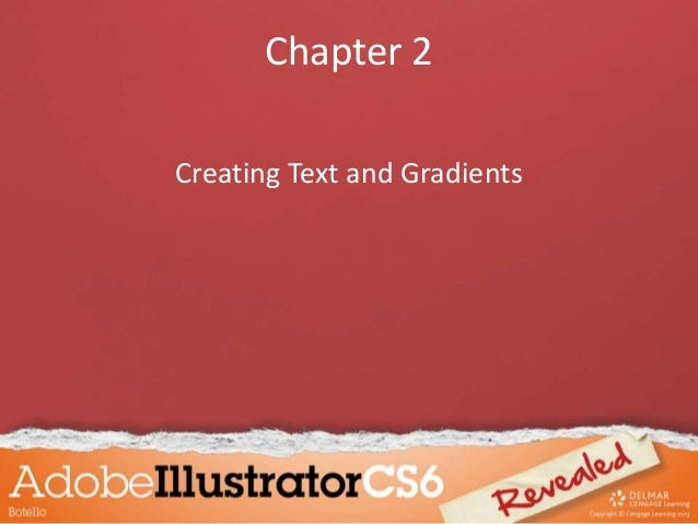 Chapter 2 Creating Text and Gradients