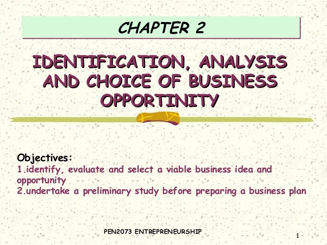 Entrepreneur Chapter 2