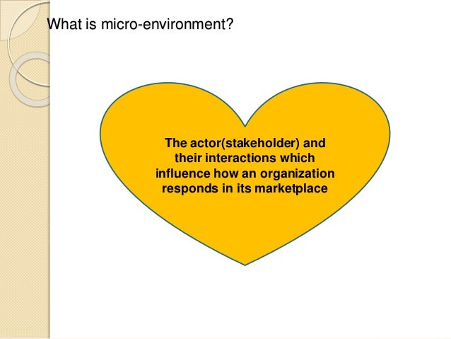 elements of macro environment and micro environment and their implications on marketing plans The implications for marketing in today's  changing emphasis of travel and tourism marketing marketing environment: micro  in travel and tourism management.