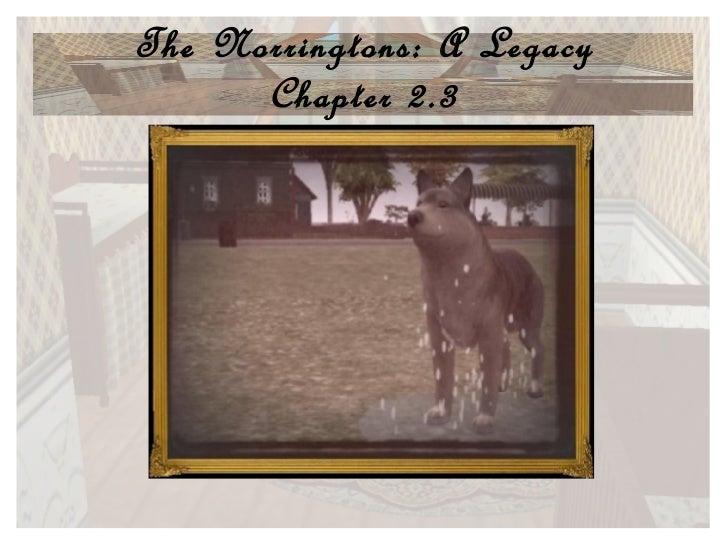 Norrington Legacy Chap 2.3