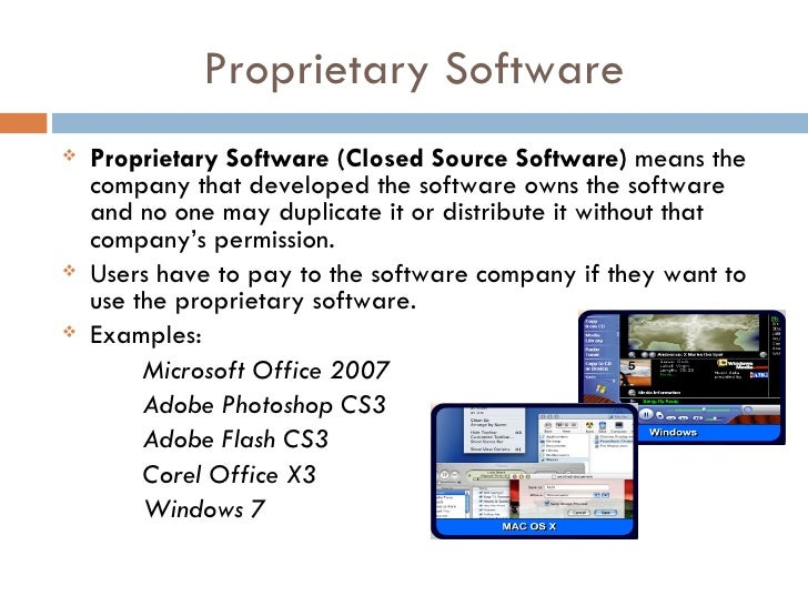 Open source vs. proprietary software essay