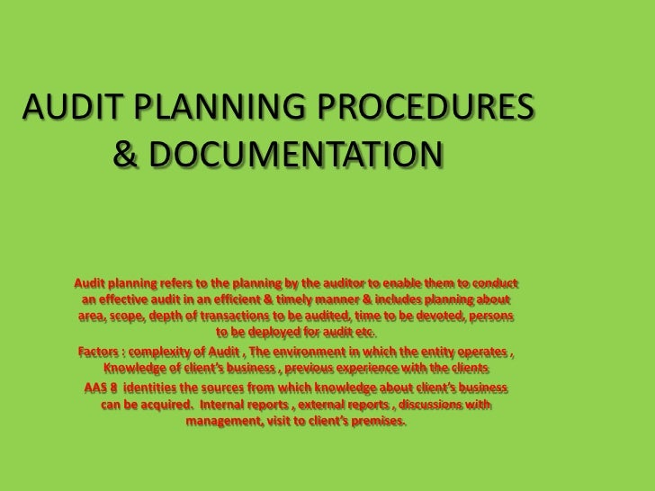 planning the it operations audit The purpose of the audit is to give assurance that the development of research state of minnesota requirements for continuity of operations planning and other.