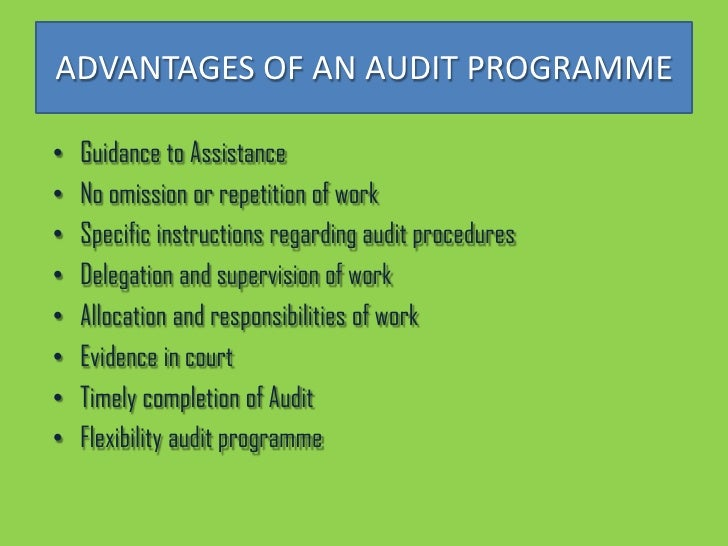 disadvantages of audit planning In the audit planning phase, analytical procedures serve as an attention-directing device  the use of analytical procedures in auditing 1 comment 1 comment.