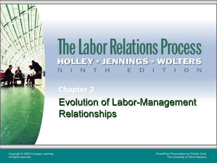 Chapter 2   evolution of labor-management relationships