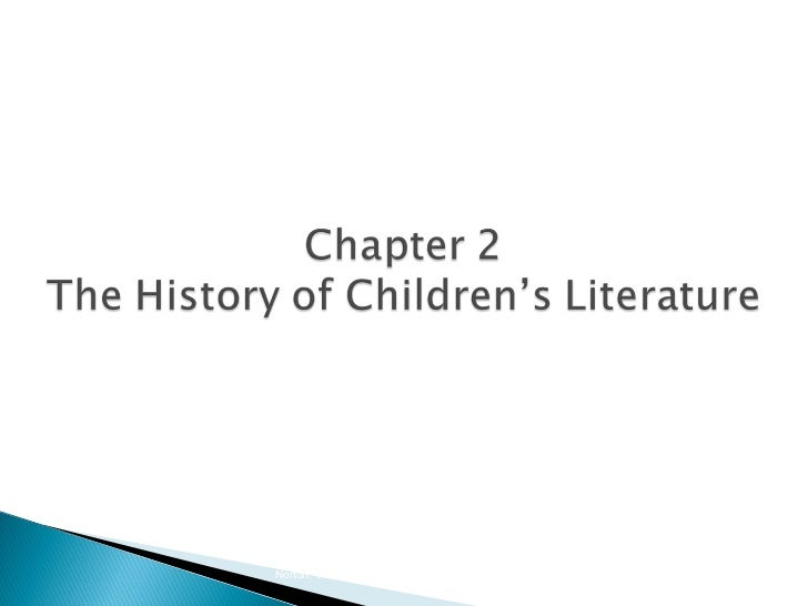 Chapter 2   History of Children's Literature