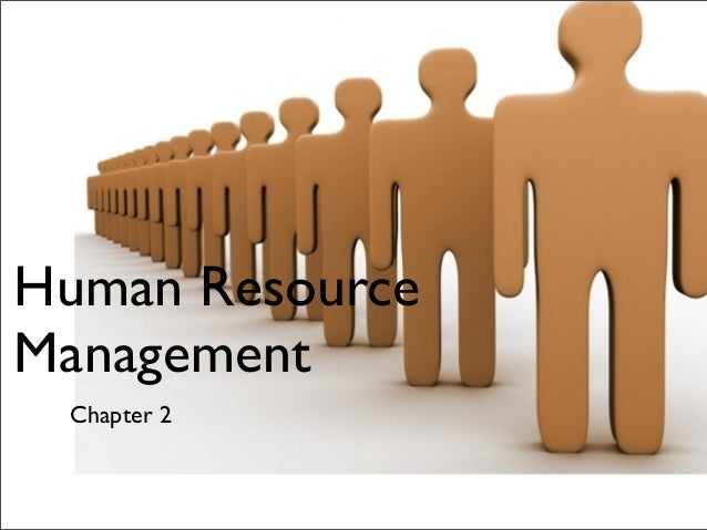 Human Resource Management  Chapter 2