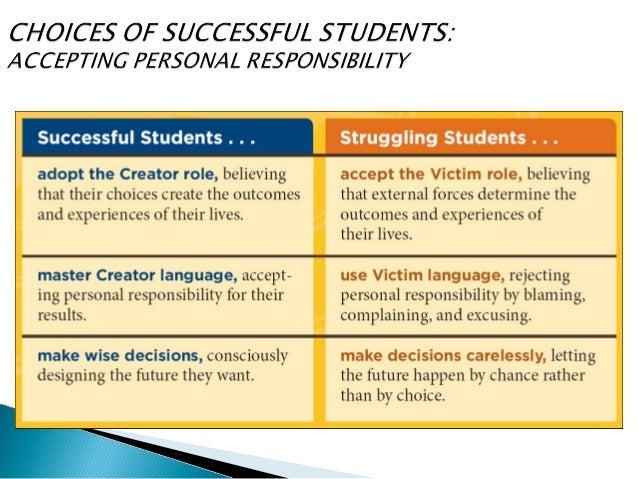 personal responsibility 7 essay