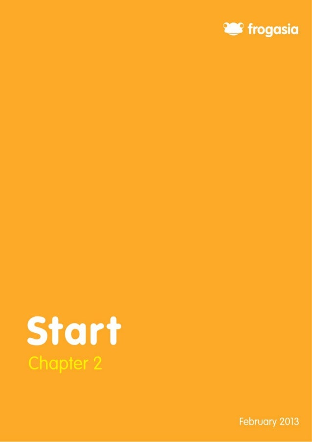 2  Chapter 2: Start Contents Chapter 2: Start ...............................................................................