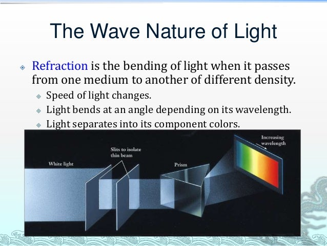 When is the wave model of light not adequate?