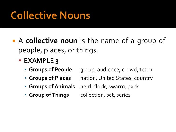 what are some examples of idea nouns