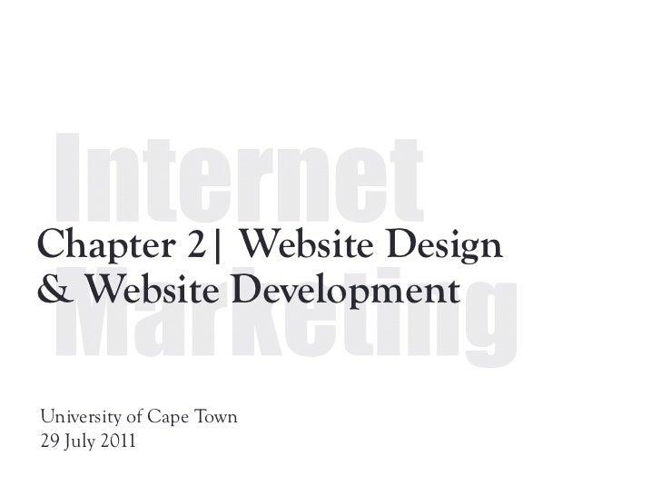 Chapter 2  | Website design & development - pf