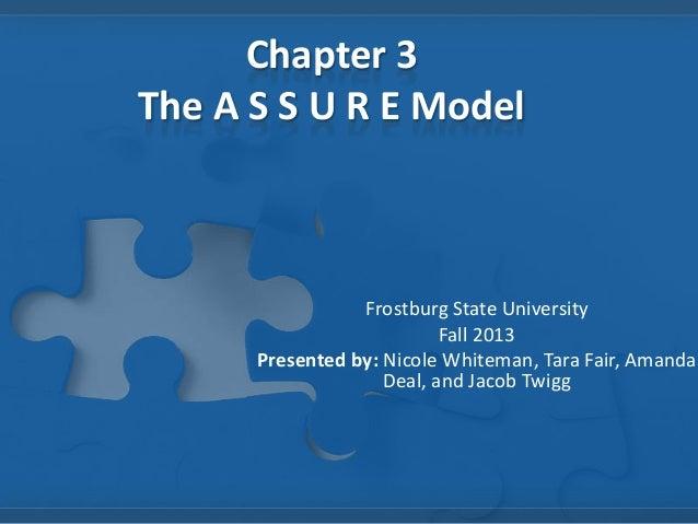 Chapter 3 ASSURE Model