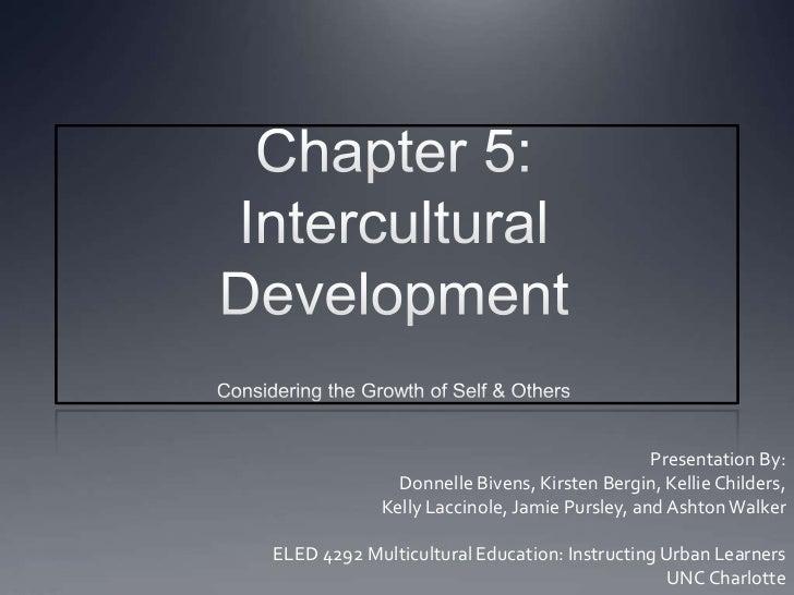 Multicultural Education: Intercultural Development