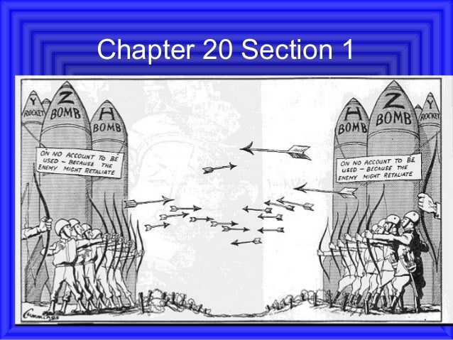 Chapter 20 section 1 power point