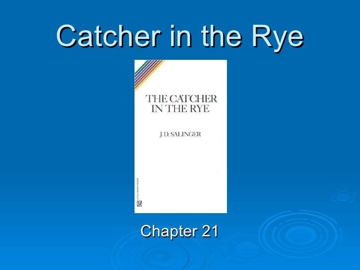 analysis essay on catcher in the rye