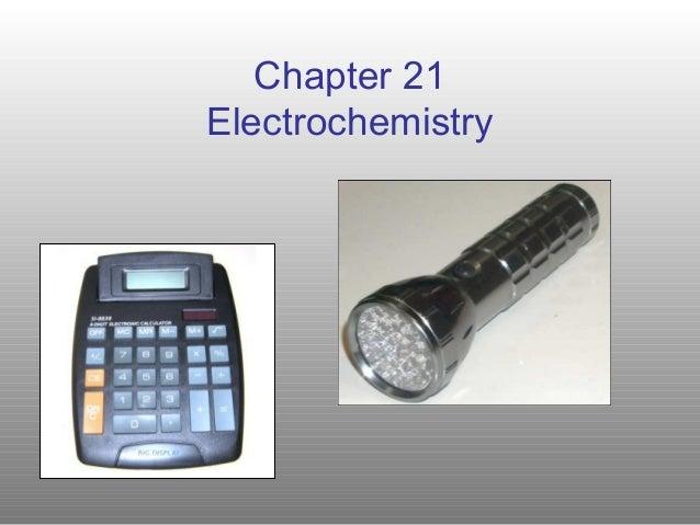 Chapter 21Electrochemistry