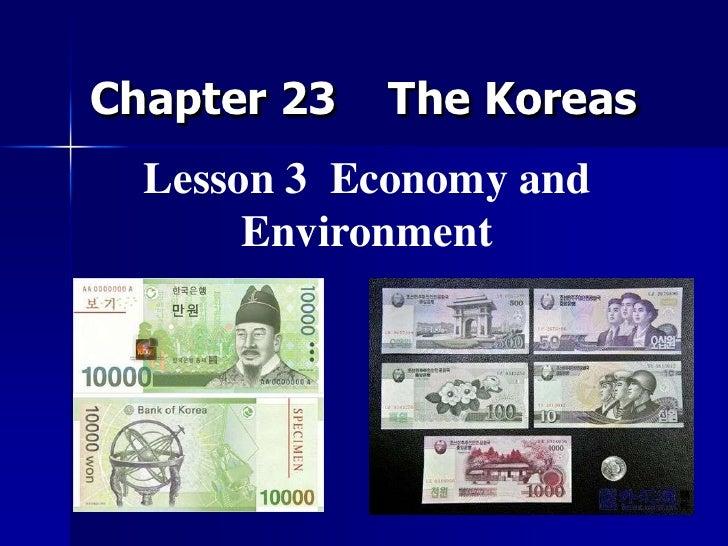 Chapter 23 korea  lesson 4